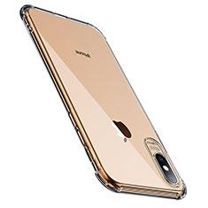 Housse Ultra Fine TPU Souple Transparente C23 pour Apple iPhone X Clair