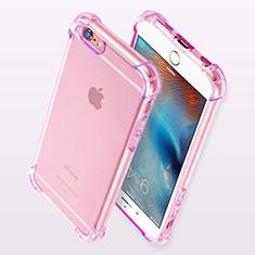 Housse Ultra Fine TPU Souple Transparente H11 pour Apple iPhone 6 Violet