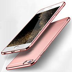 Housse Ultra Fine TPU Souple Transparente H15 pour Apple iPhone 6 Rose