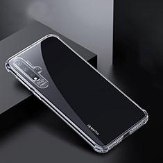 Housse Ultra Fine TPU Souple Transparente K01 pour Huawei Nova 5 Clair