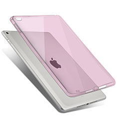 Housse Ultra Fine TPU Souple Transparente pour Apple iPad Air 2 Rose