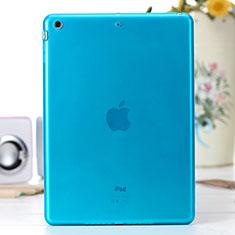 Housse Ultra Fine TPU Souple Transparente pour Apple iPad Air Bleu
