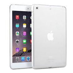 Housse Ultra Fine TPU Souple Transparente pour Apple iPad Mini Blanc