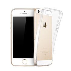 Housse Ultra Fine TPU Souple Transparente pour Apple iPhone 5 Clair