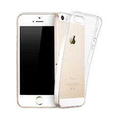 Housse Ultra Fine TPU Souple Transparente pour Apple iPhone 5S Clair