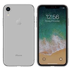 Housse Ultra Fine TPU Souple Transparente pour Apple iPhone XR Gris