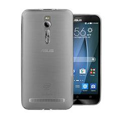 Housse Ultra Fine TPU Souple Transparente pour Asus Zenfone 2 ZE551ML ZE550ML Gris