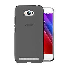 Housse Ultra Fine TPU Souple Transparente pour Asus Zenfone Max ZC550KL Gris