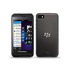 Housse Ultra Fine TPU Souple Transparente pour Blackberry Z10 Gris