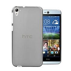 Housse Ultra Fine TPU Souple Transparente pour HTC Desire 826 826T 826W Gris