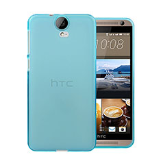 Housse Ultra Fine TPU Souple Transparente pour HTC One E9 Plus Bleu