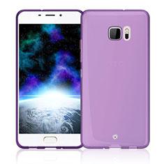 Housse Ultra Fine TPU Souple Transparente pour HTC U Ultra Rose