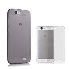 Housse Ultra Fine TPU Souple Transparente pour Huawei Ascend G7 Gris