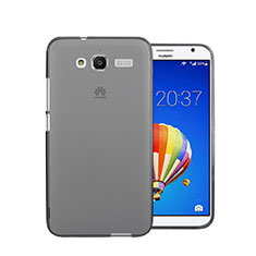 Housse Ultra Fine TPU Souple Transparente pour Huawei Ascend GX1 Gris