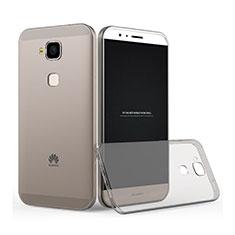 Housse Ultra Fine TPU Souple Transparente pour Huawei G8 Gris