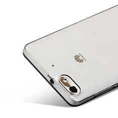 Housse Ultra Fine TPU Souple Transparente pour Huawei Honor 4C Gris