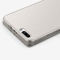 Housse Ultra Fine TPU Souple Transparente pour Huawei Honor 6 Plus Gris