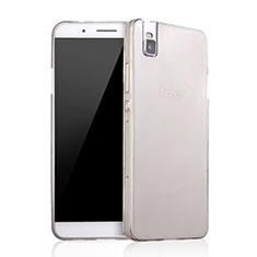 Housse Ultra Fine TPU Souple Transparente pour Huawei Honor 7i shot X Gris