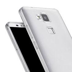 Housse Ultra Fine TPU Souple Transparente pour Huawei Mate 7 Clair