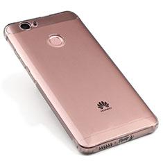 Housse Ultra Fine TPU Souple Transparente pour Huawei Nova Gris