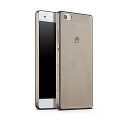 Housse Ultra Fine TPU Souple Transparente pour Huawei P8 Lite Gris
