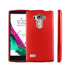 Housse Ultra Fine TPU Souple Transparente pour LG G4 Beat Rouge