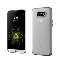 Housse Ultra Fine TPU Souple Transparente pour LG G5 Gris
