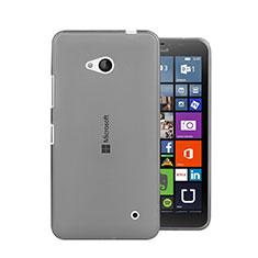 Housse Ultra Fine TPU Souple Transparente pour Microsoft Lumia 640 Gris