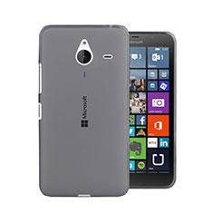 Housse Ultra Fine TPU Souple Transparente pour Microsoft Lumia 640 XL Lte Gris