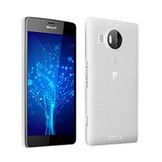 Housse Ultra Fine TPU Souple Transparente pour Microsoft Lumia 950 XL Gris