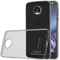 Housse Ultra Fine TPU Souple Transparente pour Motorola Moto Z Play Gris