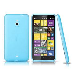 Housse Ultra Fine TPU Souple Transparente pour Nokia Lumia 1320 Bleu