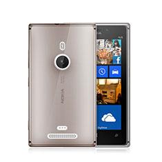 Housse Ultra Fine TPU Souple Transparente pour Nokia Lumia 925 Gris