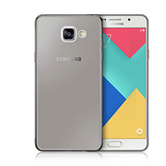Housse Ultra Fine TPU Souple Transparente pour Samsung Galaxy A3 (2016) SM-A310F Gris