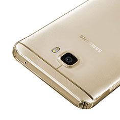 Housse Ultra Fine TPU Souple Transparente pour Samsung Galaxy C5 SM-C5000 Or