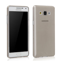 Housse Ultra Fine TPU Souple Transparente pour Samsung Galaxy Grand 3 G7200 Gris