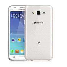Housse Ultra Fine TPU Souple Transparente pour Samsung Galaxy J3 Gris