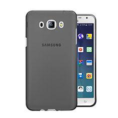 Housse Ultra Fine TPU Souple Transparente pour Samsung Galaxy J5 Duos (2016) Gris