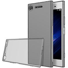 Housse Ultra Fine TPU Souple Transparente pour Sony Xperia XZ1 Gris