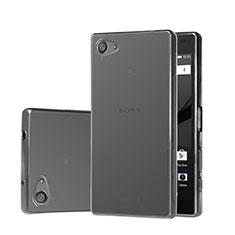 Housse Ultra Fine TPU Souple Transparente pour Sony Xperia Z5 Compact Gris