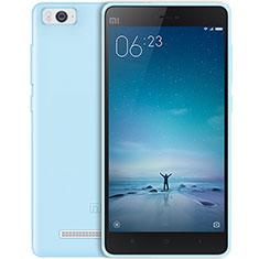 Housse Ultra Fine TPU Souple Transparente pour Xiaomi Mi 4C Bleu