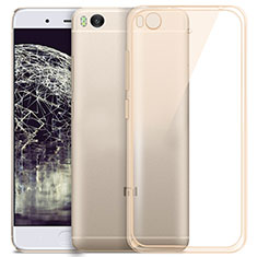 Housse Ultra Fine TPU Souple Transparente pour Xiaomi Mi 5S 4G Or