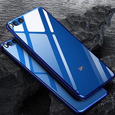 Housse Ultra Fine TPU Souple Transparente pour Xiaomi Mi Note 3 Bleu