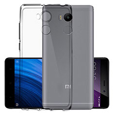 Housse Ultra Fine TPU Souple Transparente pour Xiaomi Redmi 4 Prime High Edition Gris