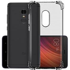 Housse Ultra Fine TPU Souple Transparente pour Xiaomi Redmi Note 4 Standard Edition Gris