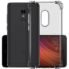 Housse Ultra Fine TPU Souple Transparente pour Xiaomi Redmi Note 4X Gris