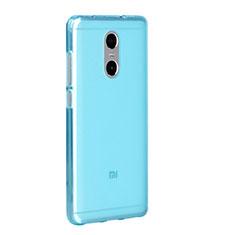 Housse Ultra Fine TPU Souple Transparente pour Xiaomi Redmi Pro Bleu