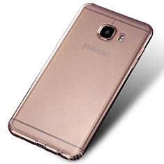 Housse Ultra Fine TPU Souple Transparente Q02 pour Samsung Galaxy C7 SM-C7000 Clair