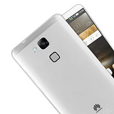 Housse Ultra Fine TPU Souple Transparente R01 pour Huawei Mate 7 Clair