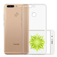 Housse Ultra Fine TPU Souple Transparente T01 pour Huawei Honor 8 Pro Clair